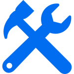 tools-cross-settings-symbol-for-interface